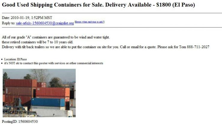 A Texas Containerist Paradise Quite Possibly Containerist Com